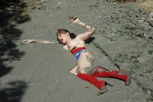 Naked girls quicksand